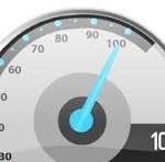Speedtest проверка скорости. Только цифры