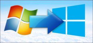 Обновление windows 7 на windows 10. Борьба с ошибками
