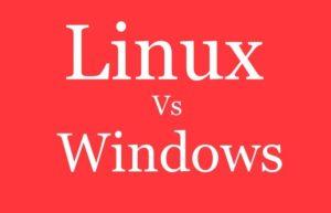 Linux vs Windows. Информация к размышлению